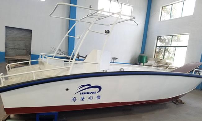 HS6500铝合金快艇
