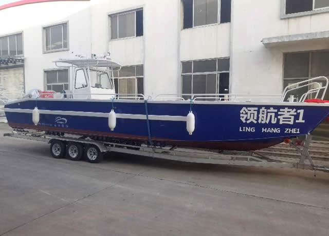 9米工作运输艇