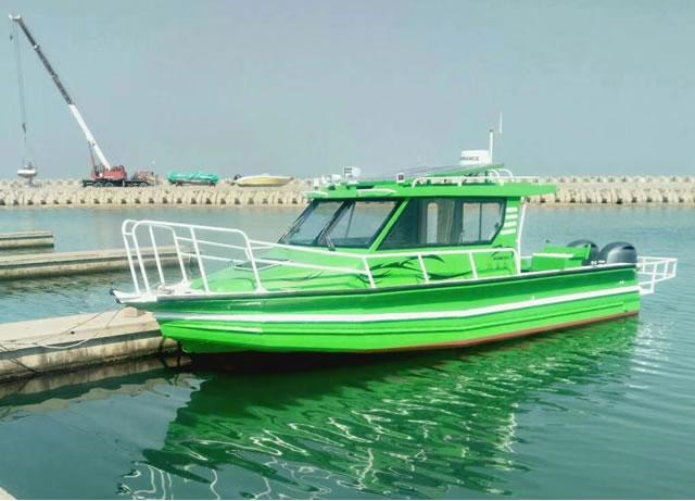 9.8米浮筒游钓艇