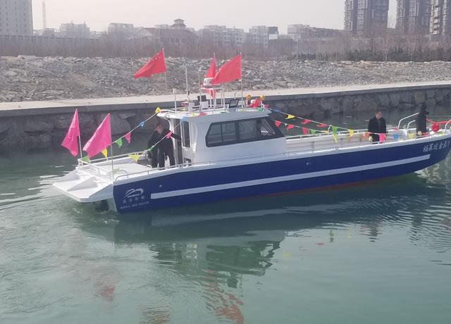 13米柴油工作艇